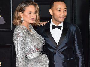 Chrissy Teigen And John Legend Reveal Adorable Baby News At The Grammys