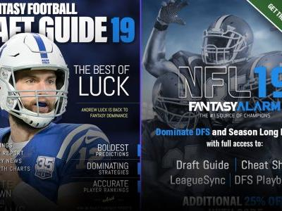 2019 Fantasy Football Draft Kit: Get busy 'living' with Fantasy Alarm's draft guide