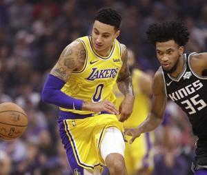 James scores 25 as Lakers top Kings 101-86