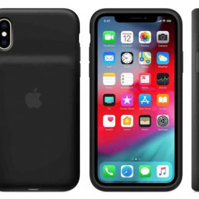 Apple launches Smart Battery Cases for iPhone XS, XS Max, and XR