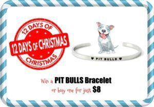Day 8: Win a Pit Bull Bracelet or Buy for $8 DealoftheDay