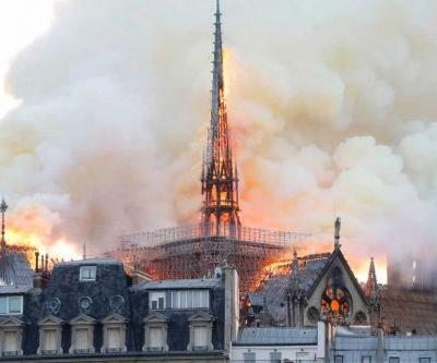 GALLERY: Notre Dame Cathedral in Paris engulfed in flames