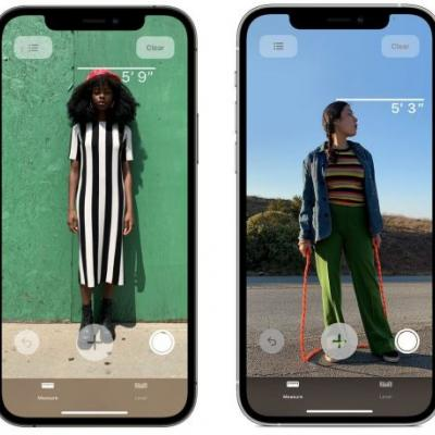 IPhone 12's LiDAR Scanner Can Measure A Person's Height