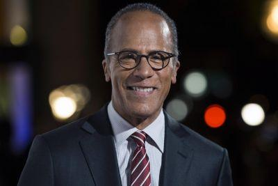 7-year-old meets Lester Holt after on-air shout-out