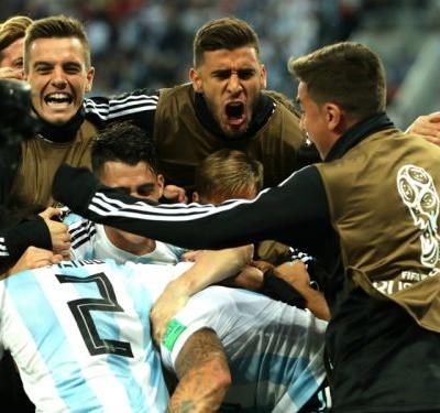 Nigeria 1 Argentina 2: Late Rojo stunner saves Messi's men
