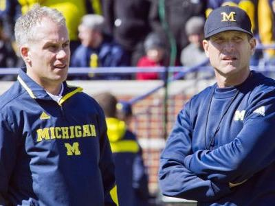 Michigan football's Chris Partridge on D.J. Durkin: 'An intense guy'