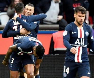 PSG ease past Dijon without banned Neymar