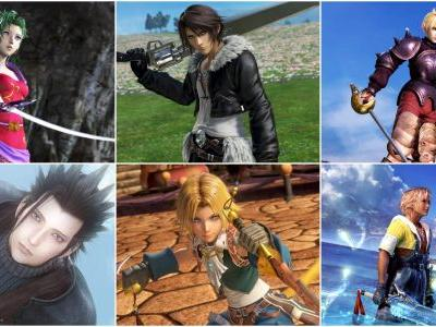 Final Fantasy: The 5 Best Main Characters In The Whole Series