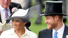 Prince Harry And Meghan, Duchess Of Sussex, Make Their Royal Ascot Debut