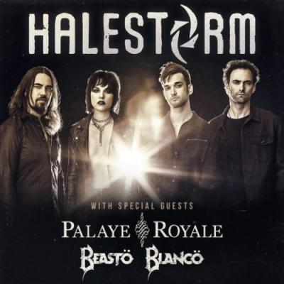 HALESTORM Announces Spring 2019 North American Tour; BLABBERMOUTH Presale Available