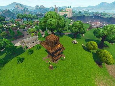 Fortnite Challenge Guide: Search Chests in Salty Springs