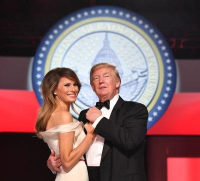 Melania Trump's Tribute To Donald Trump's Inauguration Anniversary Is A Throwback Photo