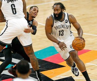 Nets' James Harden is on fire as he returns 'home' to Houston