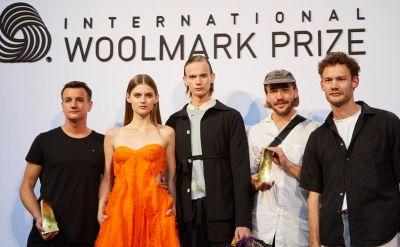 L'Homme Rouge and David Laport announced winners of the 2017/18 International Woolmark Prize Europe Final