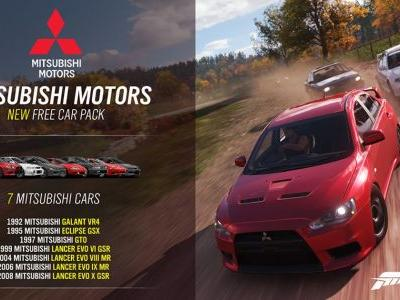 Mitsubishi Is Now In Forza Horizon 4 Via A Free Car Pack