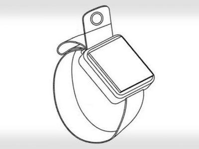Apple Patents Watch Band with Built-In Camera