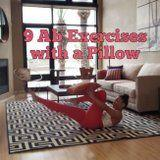 All You Need For This Celebrity Trainer's Killer Ab Workout Is a Pillow