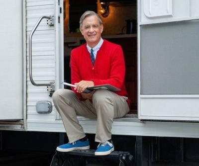 Sony Debuts First Shot of Tom Hanks as Mister Rogers
