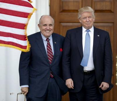 Giuliani says he advised Trump against pardoning Manafort until the Mueller investigation is over
