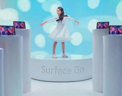 Surface Go Holiday ad takes a direct shot at the iPad