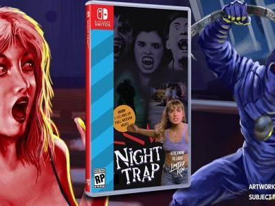 Night Trap Coming To Switch Despite Nintendo Saying It Would Never Come To Its Consoles 25 Years Ago