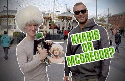 'Khabib or Conor?' Moscow makes UFC 229 megafight predictions