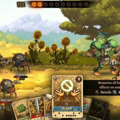 Quick Look: SteamWorld Quest: Hand of Gilgamech