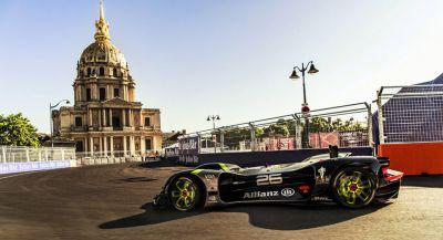 Roborace Car Completes First Public Tests In Paris