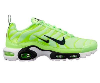 Nike's Air Max Plus Sports Double Swoosh Branding