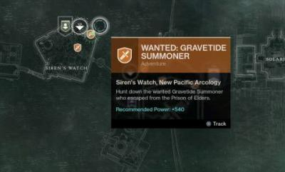 Destiny 2: Forsaken - Where to find the Gravetide Summoner