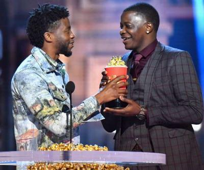 Chadwick Boseman honors real-life hero at MTV Movie & TV Awards