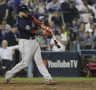 Red Sox rally, stun Dodgers to win World Series Game 4