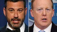 Jimmy Kimmel Grills Sean Spicer Over His Relationship With 'Son Of A B***h Trump'