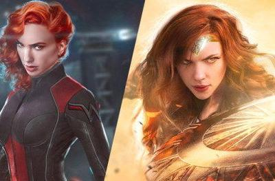Gal Gadot Is Black Widow, Scarlett Johansson Is Wonder Woman