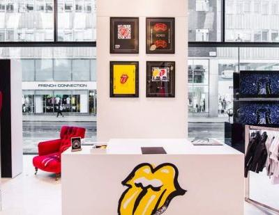Rolling Stones launch pop-up store at Selfridges