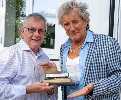 Rod Stewart has been building a model railroad for 26 years