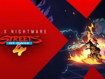 STREETS OF RAGE 4 Announces New Playable Characters and More Coming DLC and Update
