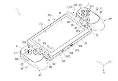 Sony Patented Device That Looks Like Nintendo Switch