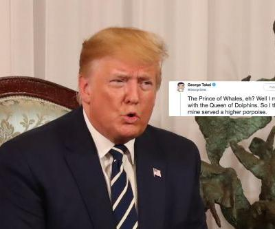 """These Tweets About Donald Trump's """"Prince Of Whales"""" Mistake Have The Internet Rolling"""