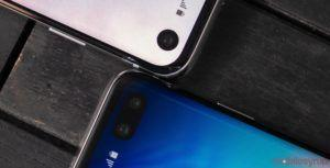 Samsung is working on smartphones with front-facing cameras under the display