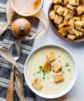 Instant pot cream of cauliflower soup