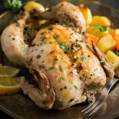 Baked Greek Lemon Chicken