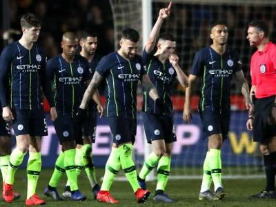 Phil Foden scores twice as Man City avoid Newport County banana skin