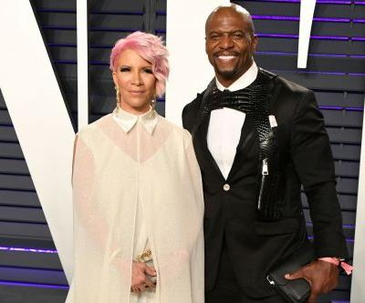 Terry Crews wears Louis Vuitton harness to Oscars 2019 afterparty