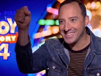 Toy Story 4: Tony Hale Interview About Forky's Origin & Life