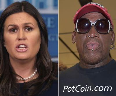 Sanders thanks Rodman for being 'helpful' in North Korea