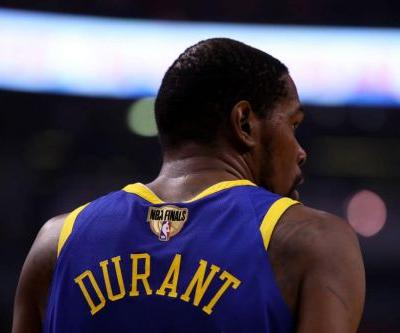 Report: Kevin Durant 'Not Anywhere Close to 100 Percent' in Game 5