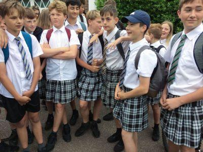 Let's scrap gender uniform lists and let men and boys wear skirts
