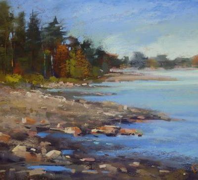 New Pastel Video Released: How to Paint Rocks and Water