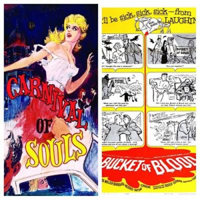 Carnival Of Souls (1962) & A Bucket Of Blood (1959) Reviews